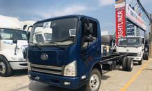 Xe tải faw 7.3 tấn động cơ hyundai thùng bạt 6.3 mét