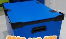 Thùng nhựa pp đáy xếp kích thước: Dài x rộng x cao: 580x410x330 (mm)