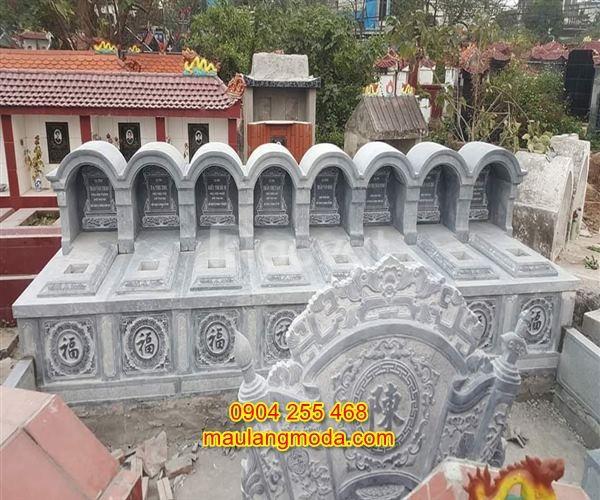 Tổng hợp 23 mẫu mộ đôi bằng đá đẹp cho ông bà, cha mẹ