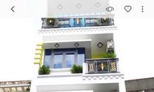 Nhà phố đường Nguyễn Kiệm Phú Nhuận, nhà 4 tầng có thang máy