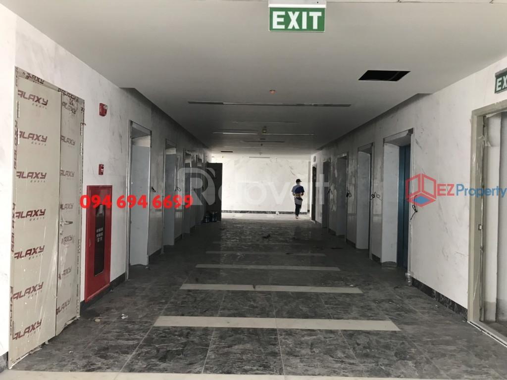 Sàn văn phòng cho thuê mặt phố Hoàng Cầu DT từ 140m2, 185m2 ô tô đỗ