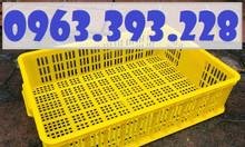 Sọt nhựa trưng bày hàng siêu thị, sọt nhựa cao 15, sọt nhựa HS008