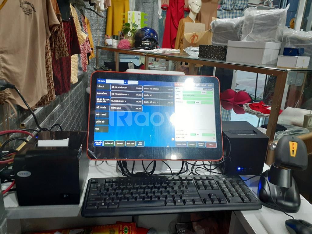 Máy tính tiền dành cho shop quần áo tại Hà Tĩnh