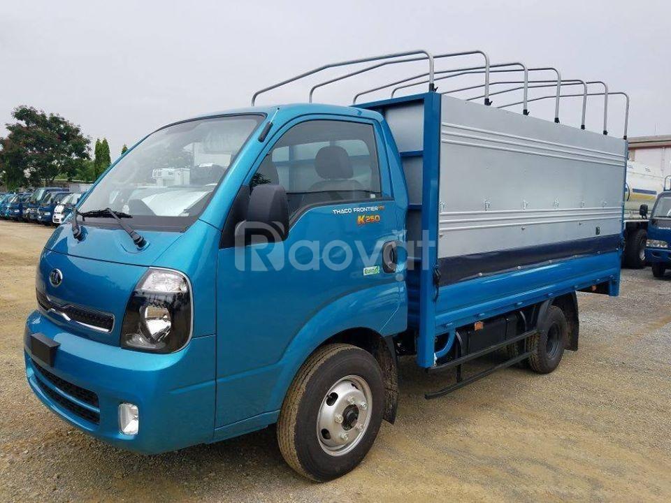 Xe tải kia k250 hỗ trợ trả góp 80%