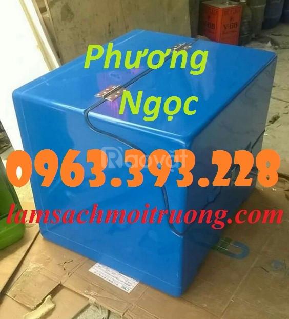 Thùng giao hàng cỡ đại, thùng chở hàng composite, thùng chở hàng