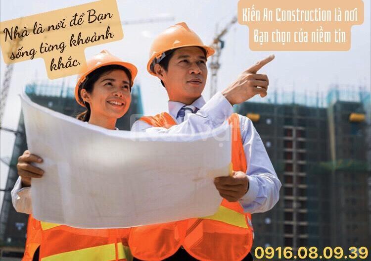 Báo giá xây dựng nhà trọn gói, xây dựng phần thô Kiến An Construcsion (ảnh 1)