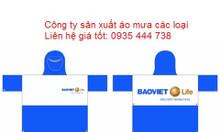 Xưởng áo mưa giá rẻ tại Quảng Nam, in áo mưa theo yêu cầu tại QNam