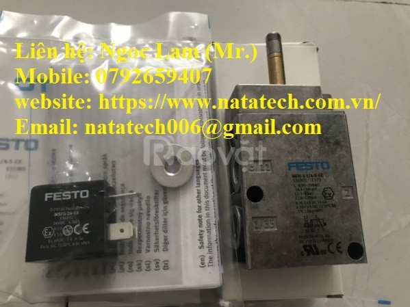 Solenoid valve MFH-3-3/4 chính hãng Festo giá hợp lý