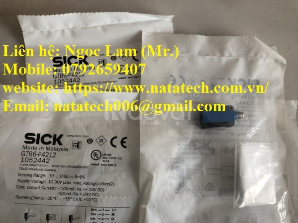 Cảm biến quang Sick GTB6-P4212 giá tốt - Cty TNHH Natatech
