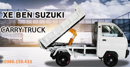 Xe tải su ben suzuki 500kg , xe suzuki tải 500kg   suzuki carry truck.