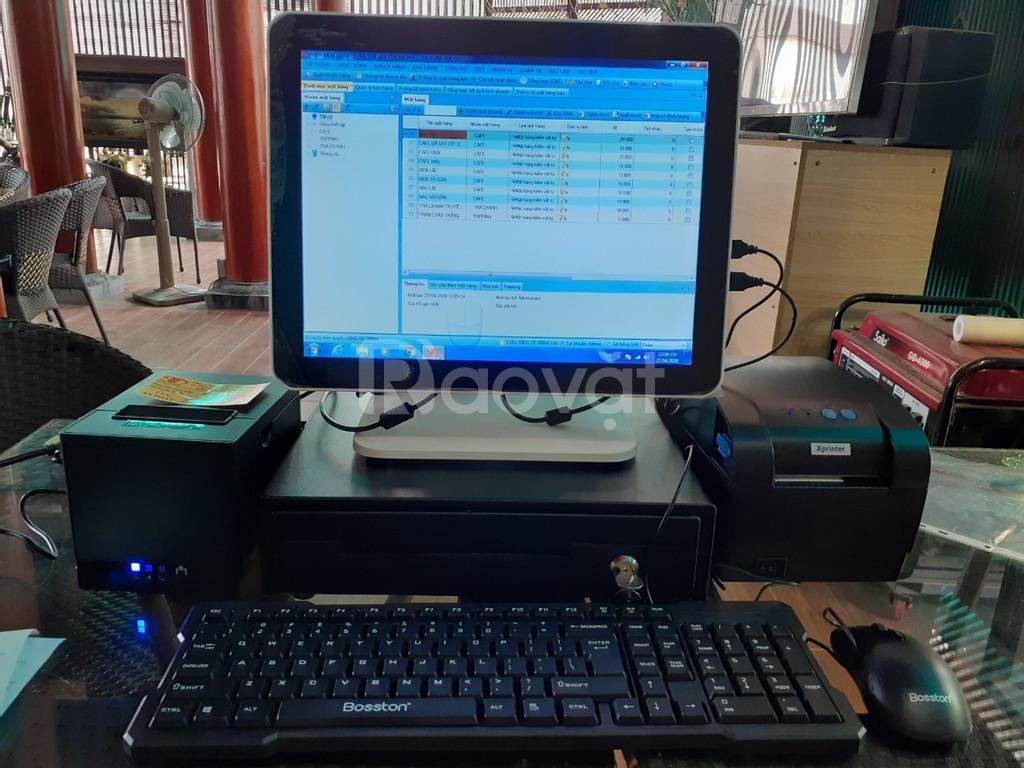 Máy tính tiền cảm ứng cho quán trà chanh giá rẻ tại Nghệ An
