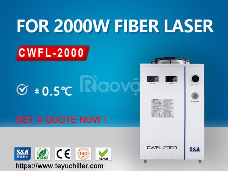Máy làm lạnh nước công nghiệp cho máy hàn laser sợi