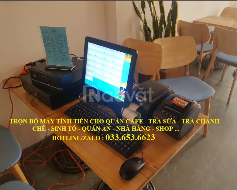 Bán máy tính tiền cho quán Trà sữa giá rẻ tại Bình Thuận