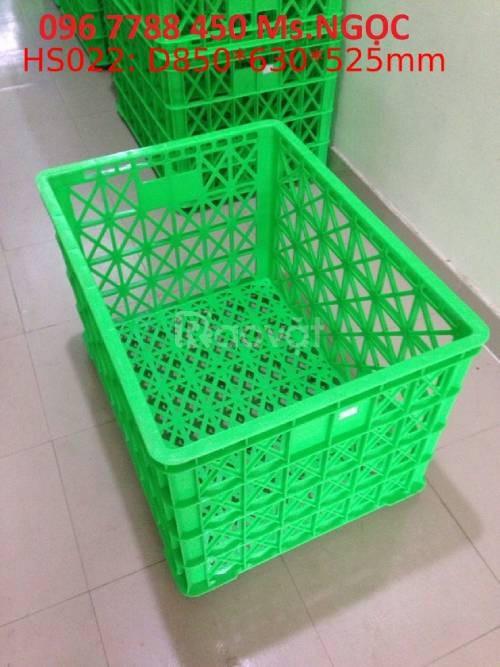 Rổ nhựa lớn có bánh xe đựng trái cây rau củ giá rẻ