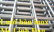 Lưới hàn inox, lưới inox lỗ vuông, chuyên cung cấp lưới hàn inox