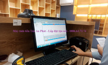 Lắp đặt combo máy tính tiền cho cửa hàng thực phẩm sạch Quảng Ngãi