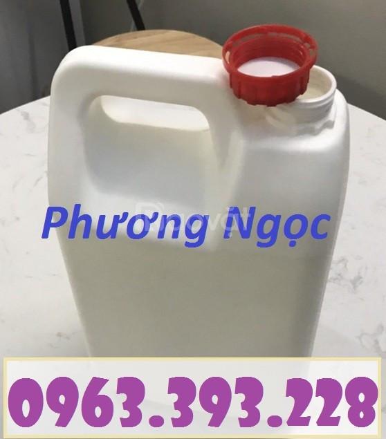 Can nhựa đựng hóa chất 5 Lít, can nhựa HDPE, can nhựa 5L