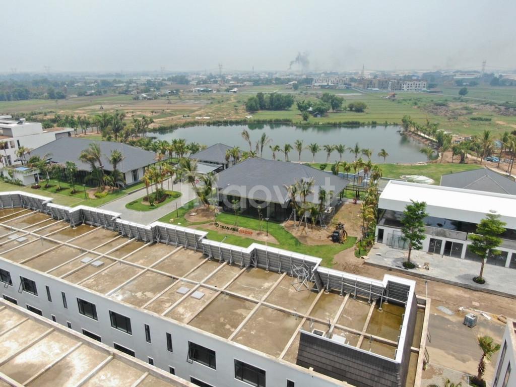 Biệt thự 3 lầu View Hồ sinh thái Khu Đô Thị 5* Cầu Lớn Hóc Môn