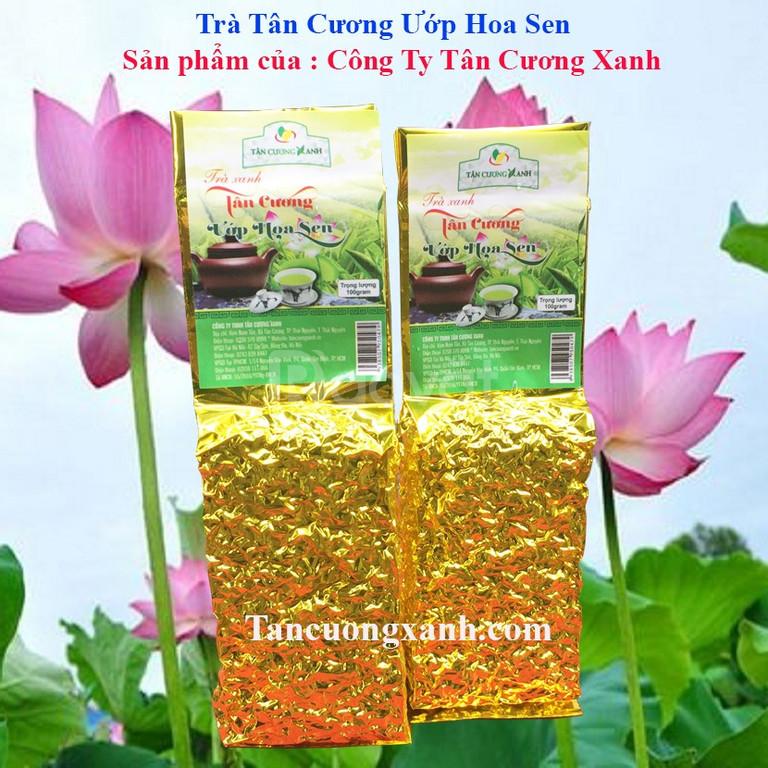 Trà Tân Cương ướp hoa sen Thượng Hạng - 100G