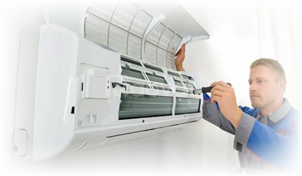 Dịch vụ vệ sinh bảo trì máy lạnh giấu trần nối ống gió