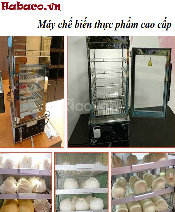 Tủ hấp bánh bao 5 khay  (ảnh 6)