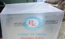 Túi pe trùm pallet | Nhà sản xuất túi nhựa pe khổ lớn Phong Kiều