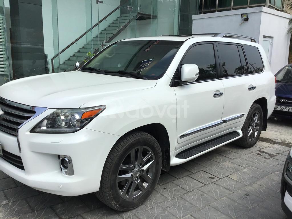 Bán LX 570 nhập Mỹ sx 2013 đk 2015