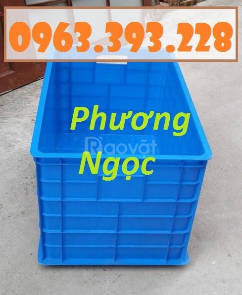 Thùng nhựa đặc công nghiệp, thùng nhựa 5 bánh xe, thùng nhựa chứa đồ