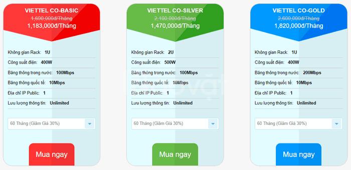 Dịch vụ cho thuê chỗ đặt máy chủ giá rẻ VDO