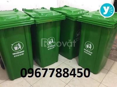Thùng rác nhựa gia đình 100 lít giá rẻ