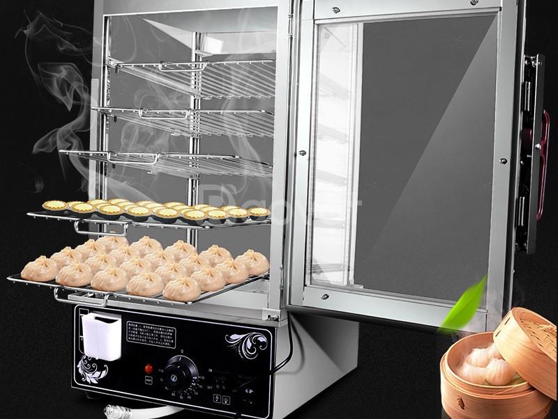 Tủ hấp bánh bao 5 khay  (ảnh 1)