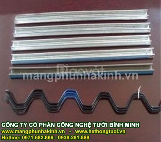 Thanh nẹp, zíc zắc nhà kính, nhà lưới, chuyên cung cấp nẹp cài zigzag