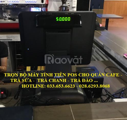 Bán máy tính tiền cho quán cafe, trà sữa tại Tiền Giang