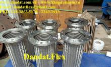 Báo giá chống rung mặt bích inox, Khớp nối mềm inox nối bích, ống mềm