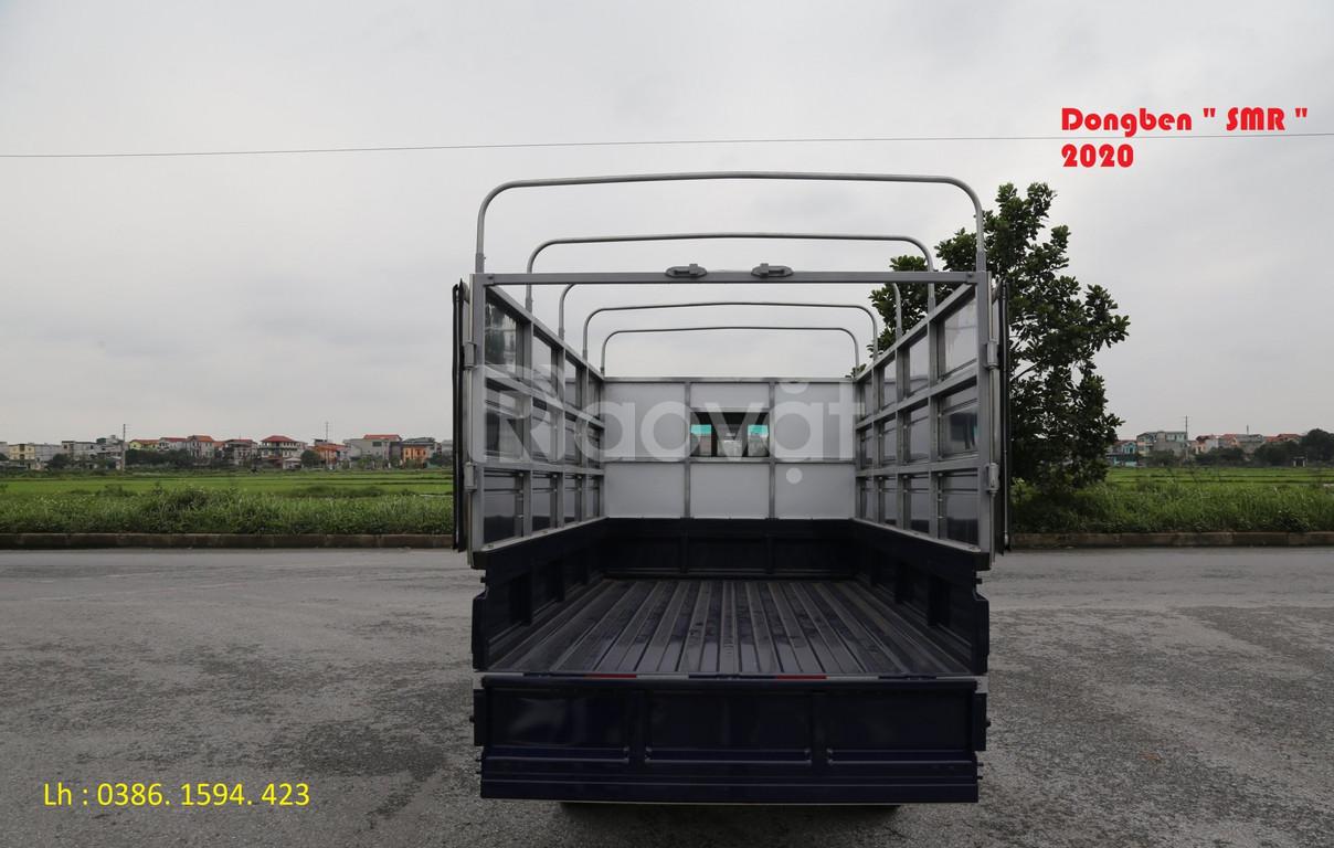 Xe dongben SRM, tải 930kg, xe dongben 2020 +giá rẻ.