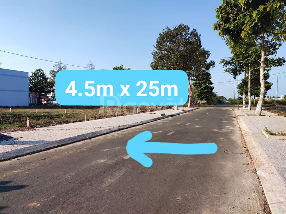 Bán 112.5m2 đất thổ cư mặt tiền lộ 6m cách Chợ Bình Thuỷ 1,5km