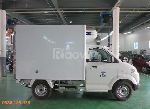 Xe tải thùng đông lạnh suzuki 500kg, su đông lạnh bình dương