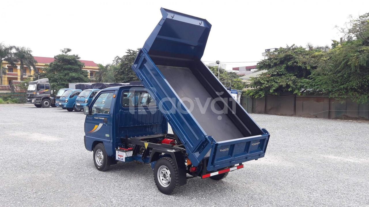 Xe tải ben thaco tải trọng dưới 1 tấn