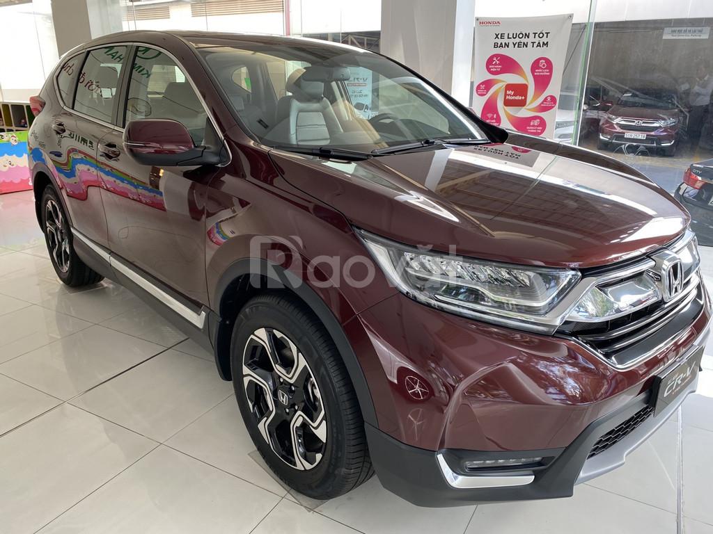 Honda CRV 2020, giá tốt hỗ trợ KH mua xe