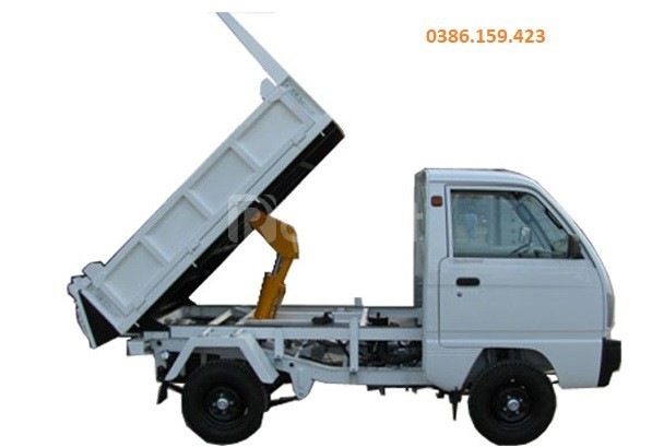 Xe tải su ben suzuki 500kg , xe suzuki tải 500kg +bình dương.