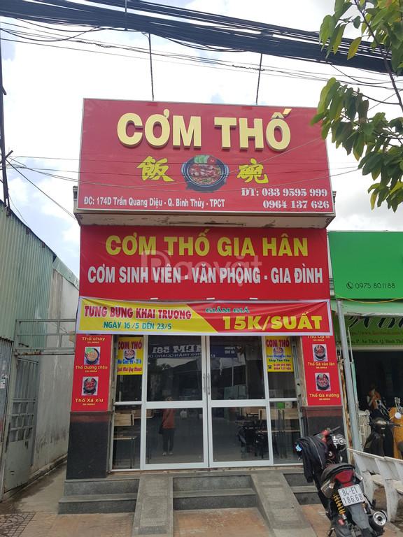 Máy tính tiền dành cho quán ăn tại Bình Thủy