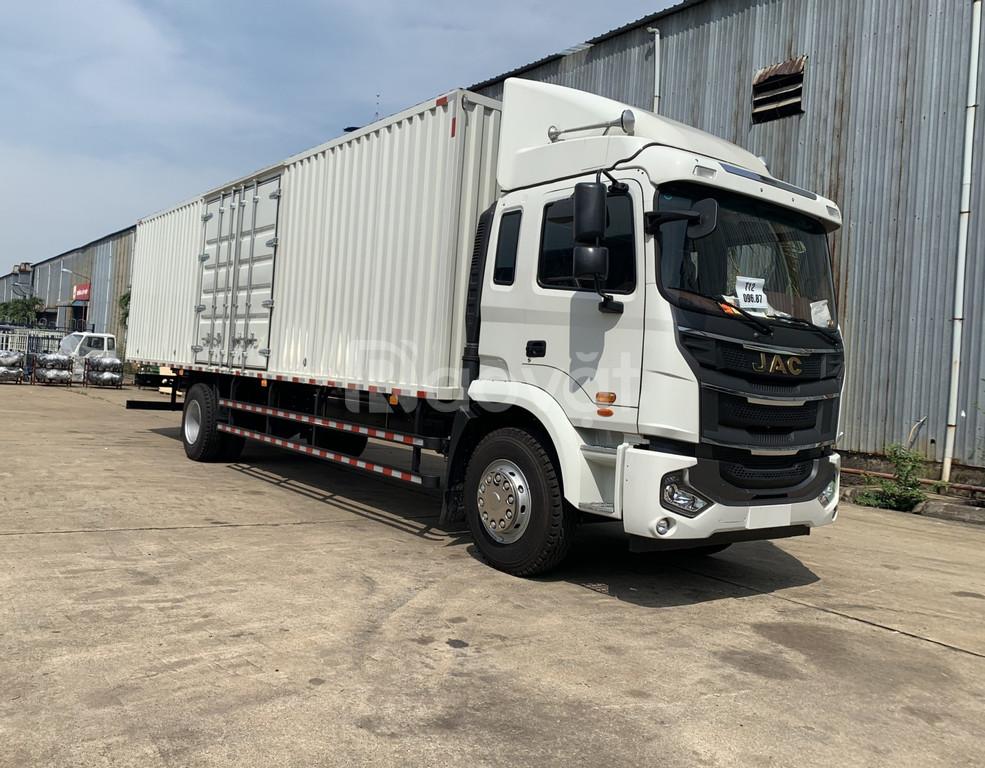 Giá xe tải Jac A5 thùng bạt| xe tải Jac 9 tấn thùng dài 9m
