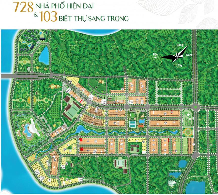 Cơ hội đầu tại dự án River silk city Hà Nam của tập đoàn CEO