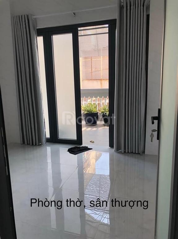 Nhà đẹp Nguyễn Văn Đậu, Quận Bình Thạnh, 56m2, 4 tầng, gần mặt tiền, 6.7 tỷ
