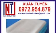 Chuyên sản xuất túi nilon PE dạng cuộn, dạng túi