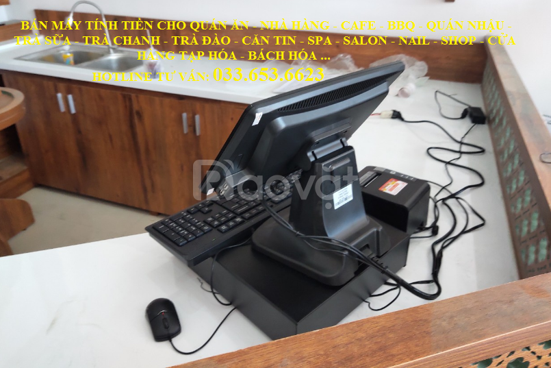 Bán máy tính tiền giá rẻ cho mô hình cafe tại TpHCM