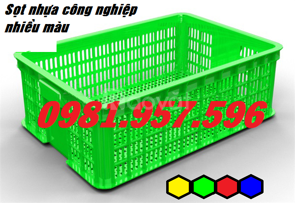 Sọt nhựa dựng bánh kẹo, sọt nhựa đựng rau củ, sọt nhựa Hs009
