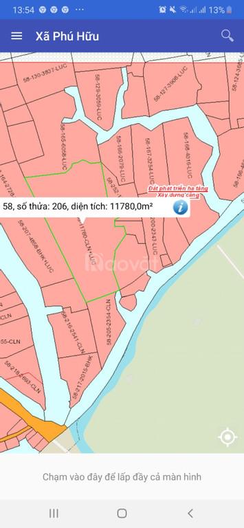 Chính chủ cần bán lô đất giá rẻ tại xã Phú Hữu , Nhơn Trạch, Đồng Nai.