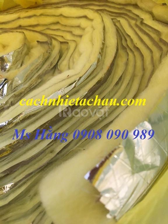 Bông thủy tinh cách âm, cách nhiệt cực tốt, giá rẻ tại HCM (ảnh 6)