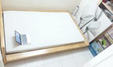 HN giường ngủ IKEA gỗ sồi phong cách Bắc Âu đẹp hiện đại 150cm x 215cm